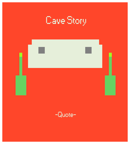 Cave Story Minimal Poster by Zas-Man