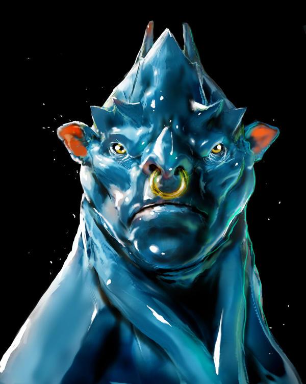 Alien Concept 01 by Acoldwar