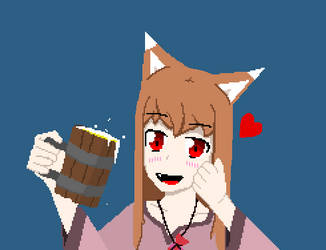 Spice and Wolf - Holo by Kevinfu510