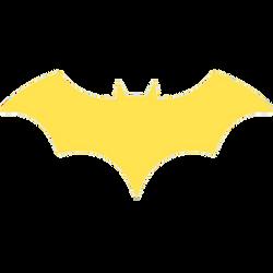 Batgirl New 52 Rebirth bat logo PNG