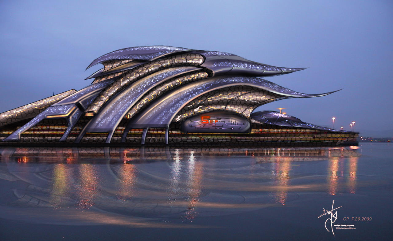 Fantasy architecture design by chachajonni on deviantart for Architecture art