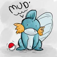 Mudkip Doodle. by Bapazu