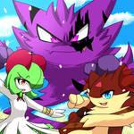 Team Darkos in the fields [New app icon again]