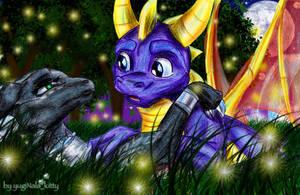 Spyro x Cynder2