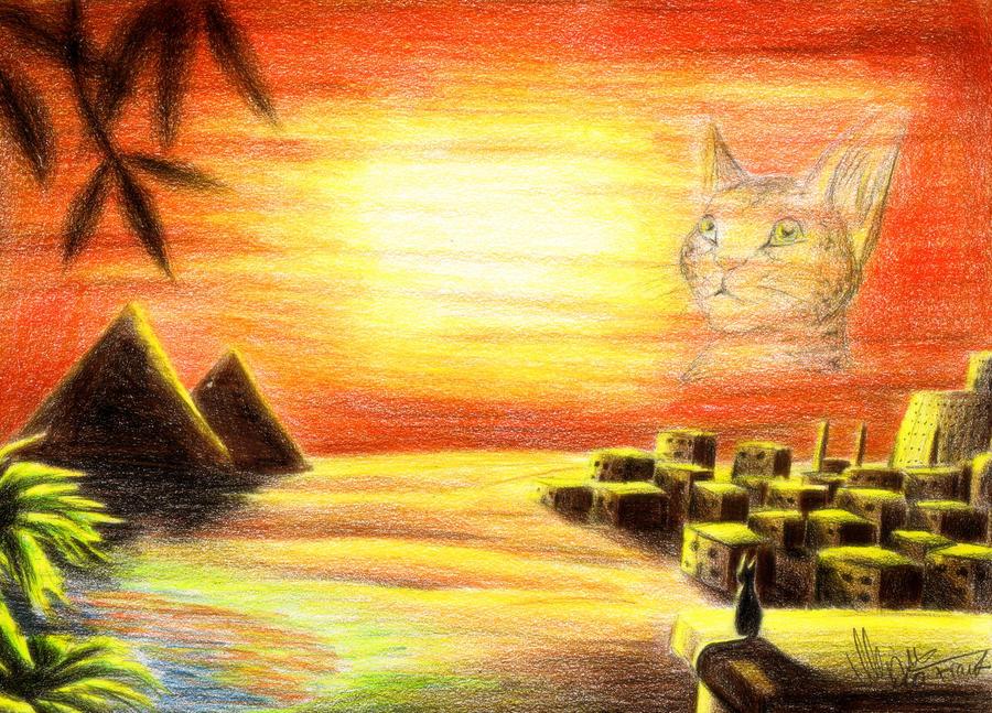 Sunset by YunakiDraw