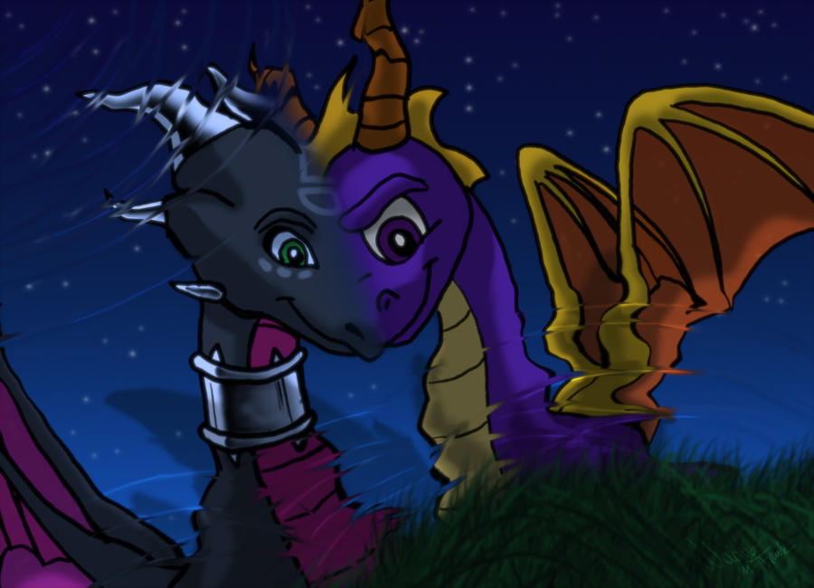 Spyro x Cynder We are one by YunakiDraw on DeviantArt