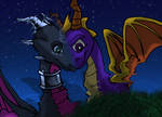 Spyro x Cynder We are one