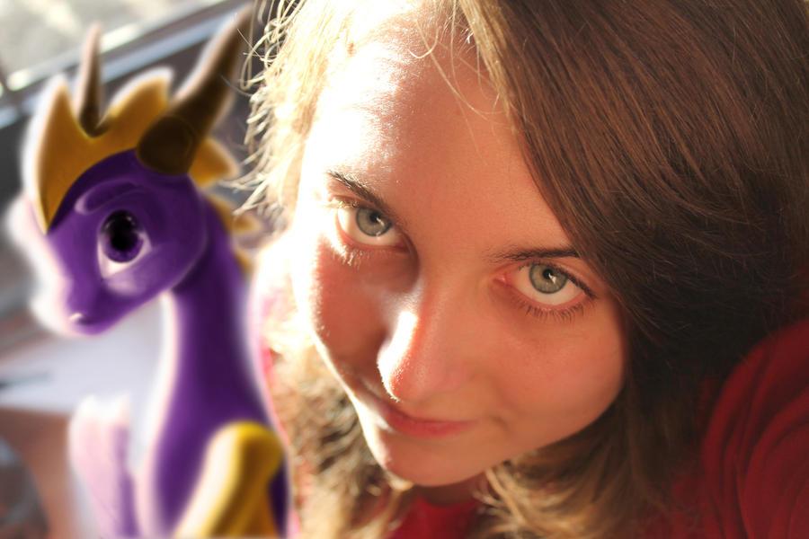 Me and Spyro by YunakiDraw