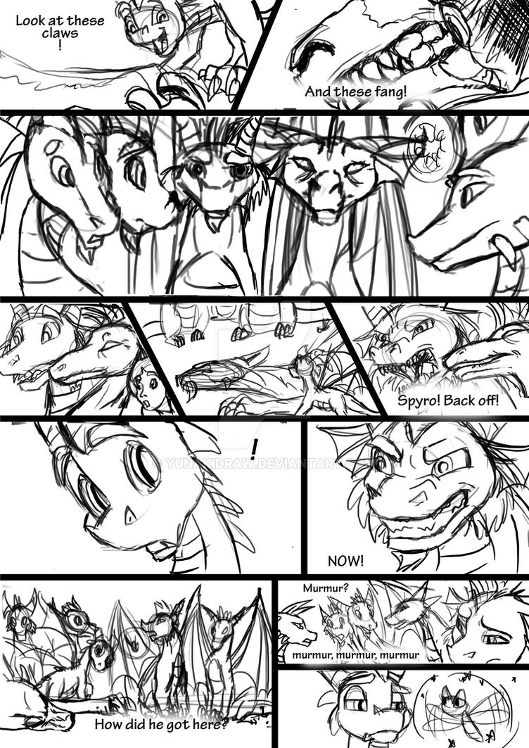 Spyro A New Beginning Level1 page 19 by YunakiDraw