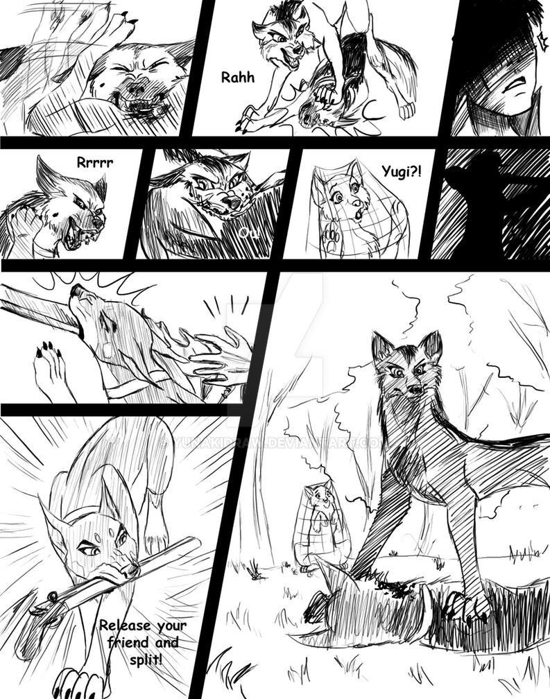 SNARL Yu-Gi-Oh Manga Ch2 page13 by YunakiDraw on DeviantArt