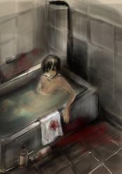 bath towels by BurnAwayy