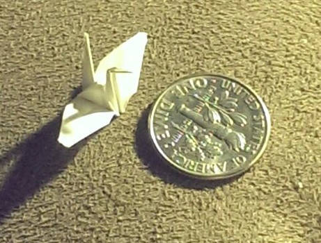 Tiny Little Paper Crane