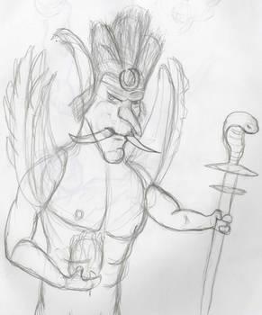 Troll Druid sketch
