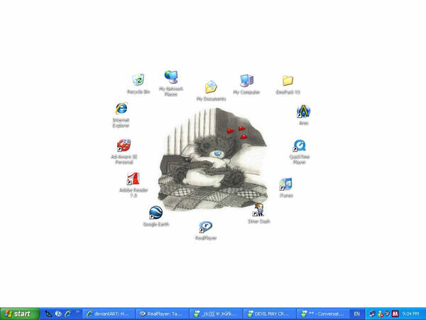My Desktop by sometimes121