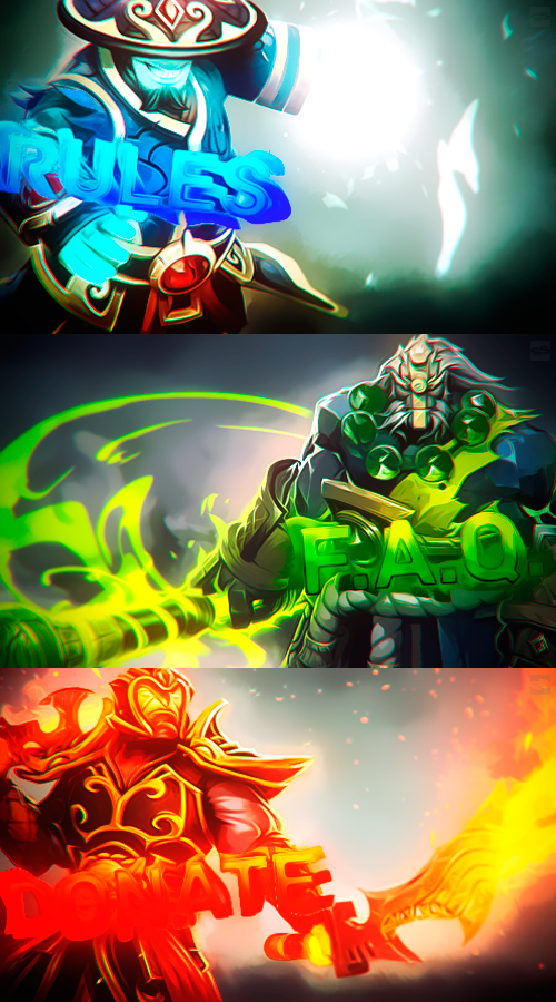 dota 2 stylized banners for twitch by senzcreations on deviantart