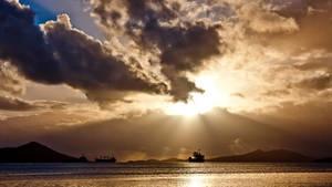 golden sunset by Gwangelinhael