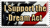 The Dream Act Stamp by simbandeh