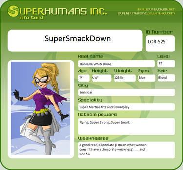 SuperSmackDown by MustangFireGirl