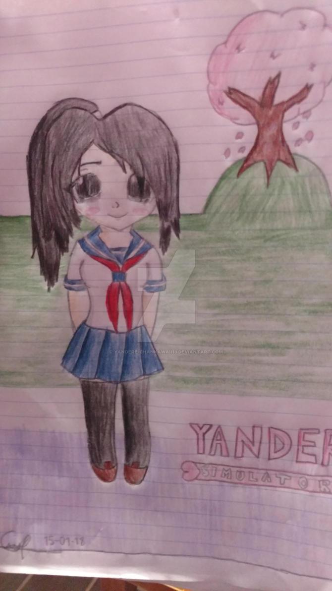 YANDERE DRAW by Yandere-ChanKawaii13