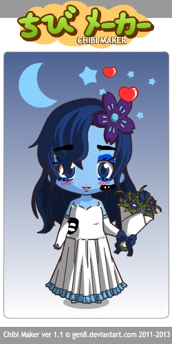 Emily Corpse Bride by Yandere-ChanKawaii13