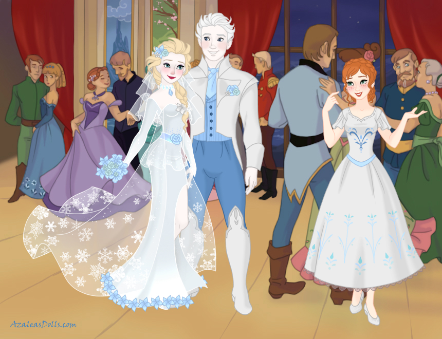 Wedding Of Elsa And Jack Frost by Yandere-ChanKawaii13
