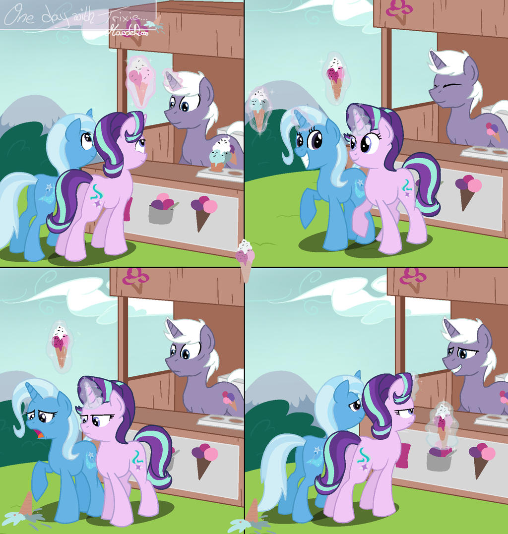 One Day With Trixie