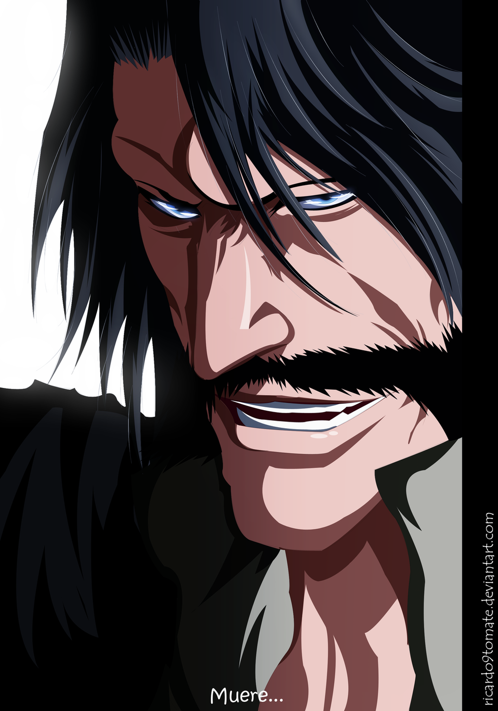 [Coloreo] Bleach ''Juha Bach'' by Ric9Duran