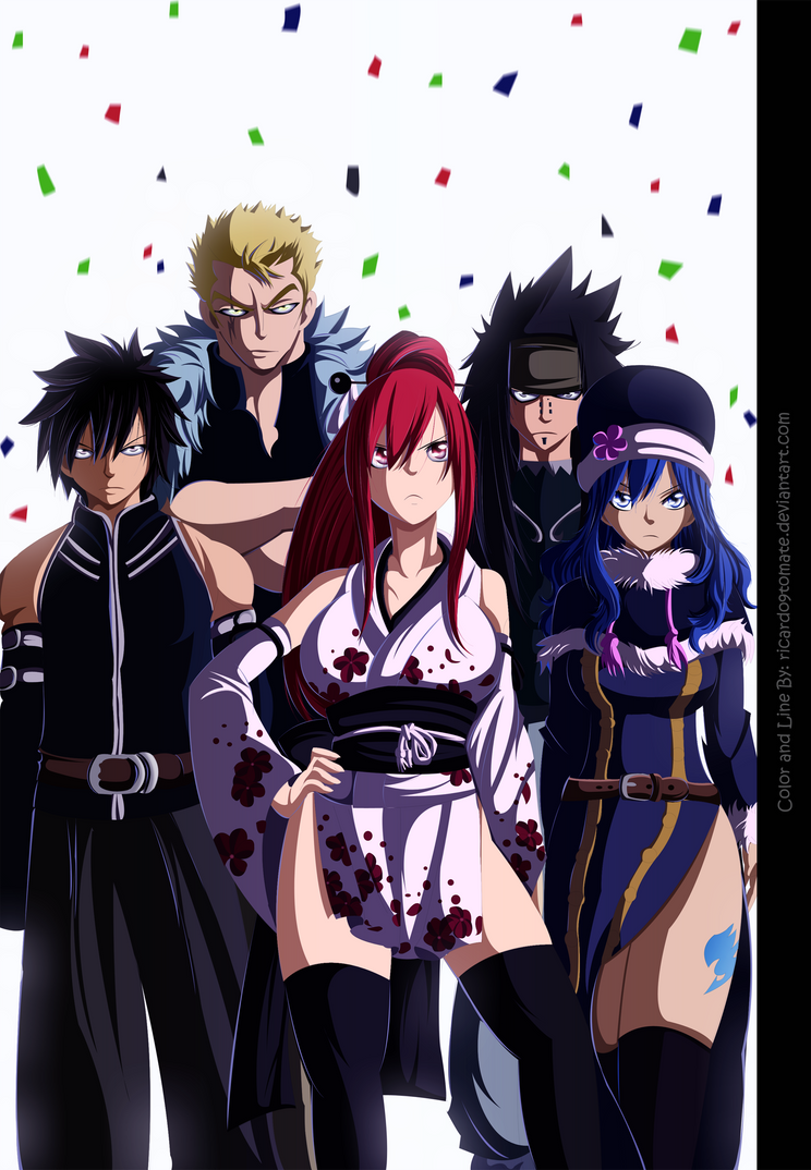 [Coloreo]Fairy tail!! by Ric9Duran
