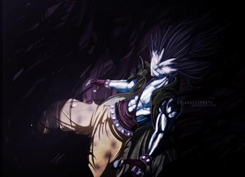 Gajeel Redfox - ''Iron Shadow Dragon'' by Ric9Duran