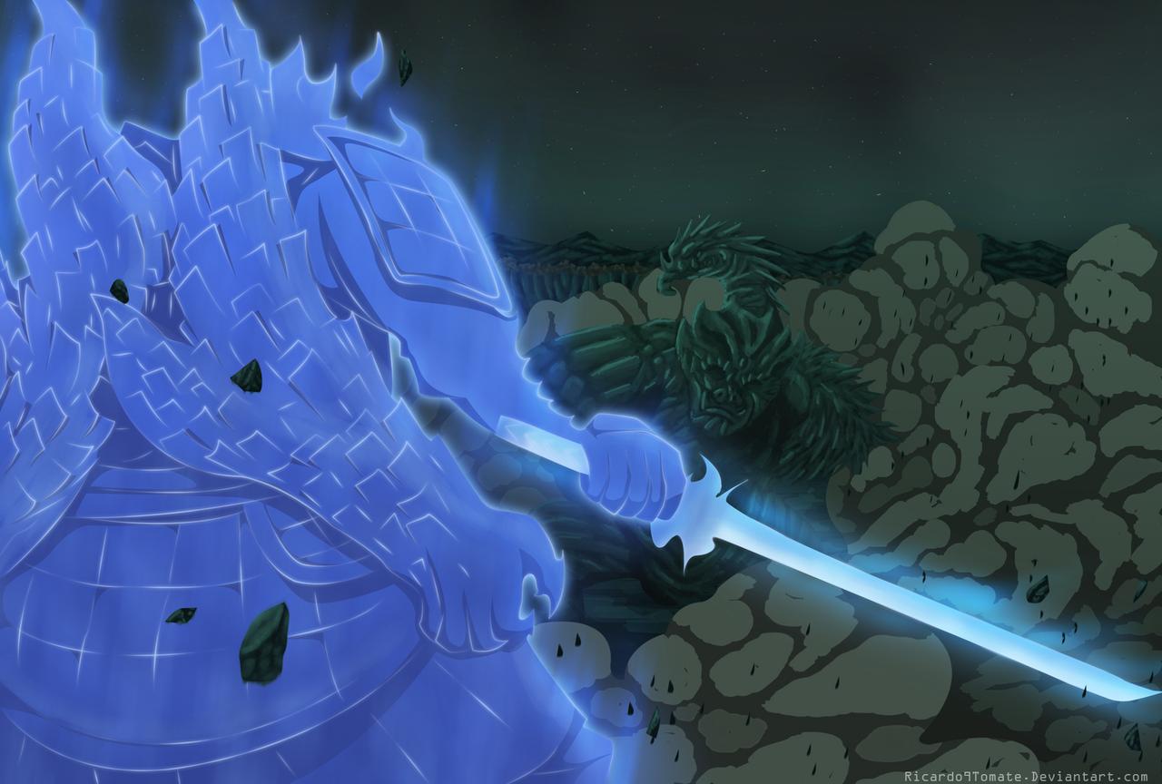 Madara And Hashirama - Epic Battle! by Ric9Duran