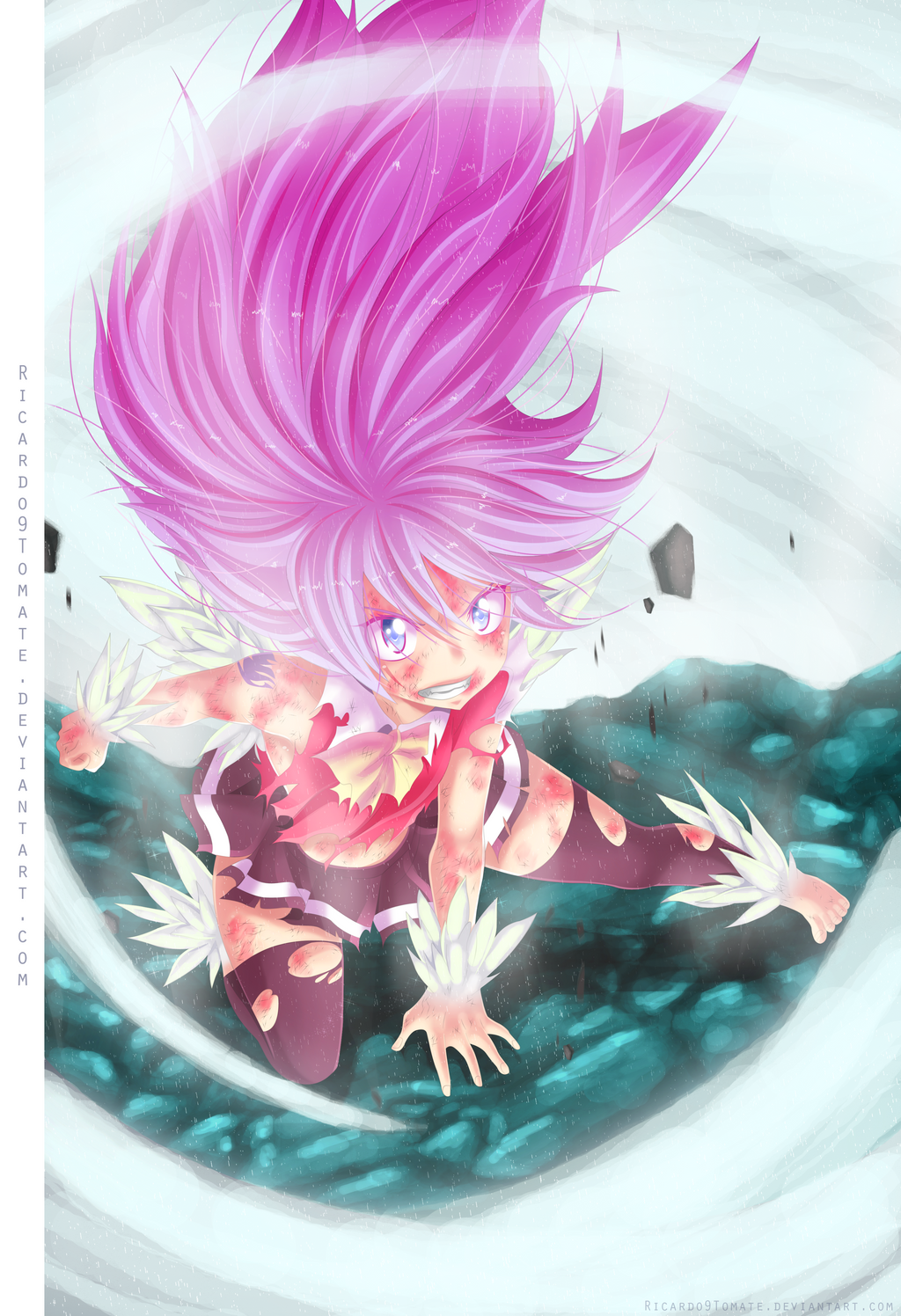 Fairy Tail 376: Wendy Marvell Dragon Force! by Jordan-Sanchez on ...