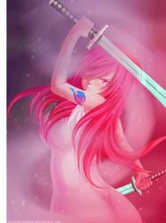 Erza Scarlet - Swords Dance by Ric9Duran