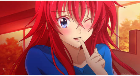 HSDxD Born Rias Gremory by Ric9Duran