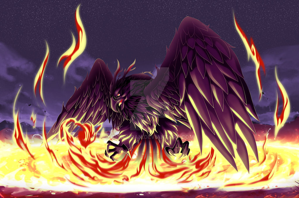 [Commission] Phoenix Version 1 by Ric9Duran
