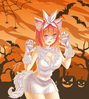 [Fan Art] Yotsuba Nakano - Happy Halloween! by Ric9Duran