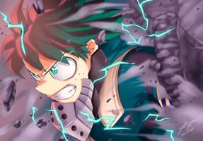 Izuku Midoriya   Invincible Hope