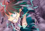 Izuku Midoriya   Invincible Hope by Ric9Designs