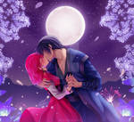 [Commission] Hak and Yona - Moonlight by Ric9Designs