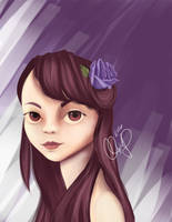 Portrait Practice 3 by muddypuddles