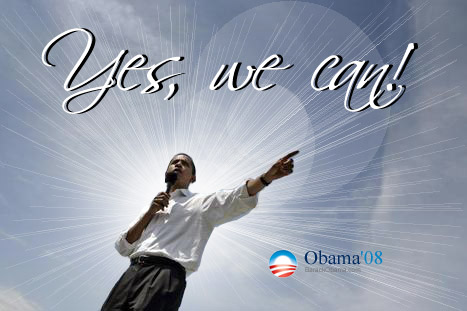 Yes we can by peace4life on deviantart for Bett yes we can