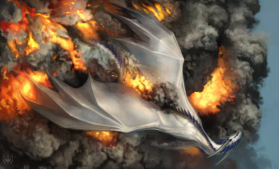 Falling Through Fire