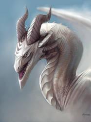 Albino Fog Dragon