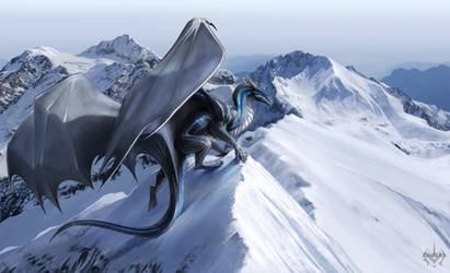 Snow Mountains by zyavera