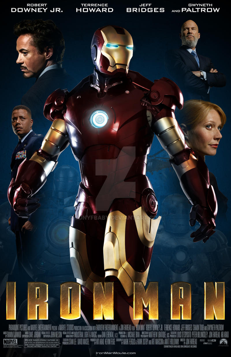 iron man 1 movie poster pictures to pin on pinterest pinsdaddy. Black Bedroom Furniture Sets. Home Design Ideas