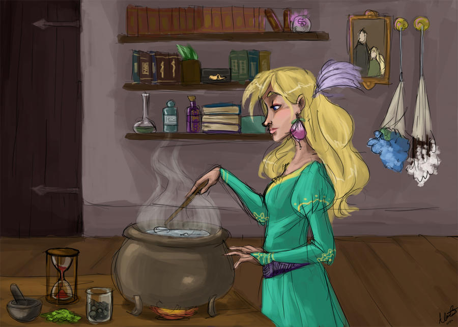 Brewing a little something... by Qballthe5th