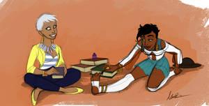 Kida and Esmeralda-Modern