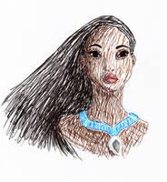 Pocahontas by bealor
