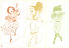Disney Airbenders by bealor