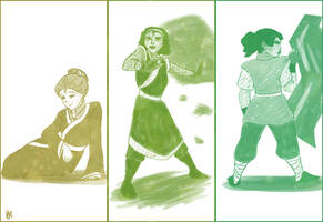 Disney Earthbenders by bealor