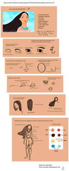 Tutorial: Pocahontas by bealor